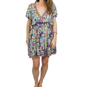prema off white patterned dress
